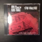 Big D And The Kids Table / Five Knuckle - Look What You've Done... CDEP (VG+/M-) -punk rock-
