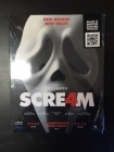 Scream 4 Blu-ray (avaamaton) -kauhu-