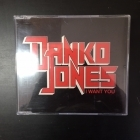 Danko Jones - I Want You CDS (M-/M-) -hard rock-