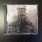 Necrofrost - Bloodstorms Voktes Over Hytrunghas' Dunkle Necrotroner CD (M-/M-) -black metal-