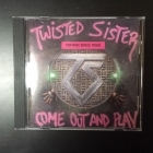 Twisted Sister - Come Out And Play CD (VG+/VG+) -hard rock-