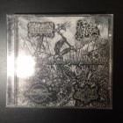 Allfather / Nebron / Hordes Of The Lunar Eclipse / Gnostic - Lead Us Into War And Find Glory CD (VG+/M-) -black metal-