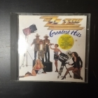 ZZ Top - Greatest Hits CD (VG/M-) -hard rock/blues rock-