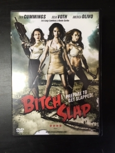 Bitch Slap DVD (VG+/M-) -toiminta-