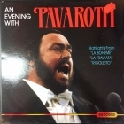 Luciano Pavarotti - An Evening With Pavarotti LP (VG+/VG+) -klassinen-