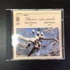 Ilari Lehtinen & Ralf Gothoni - Chanson Sans Paroles CD (M-/M-) -klassinen-