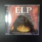 Emerson, Lake & Palmer - The Show That Never Ends 2CD (VG+-M-/M-) -prog rock-