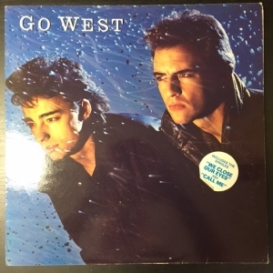 Go West - Go West LP (VG/VG+) -new wave-