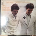 Carlos Santana & Mahavishnu John McLaughlin - Love Devotion Surrender (NL/S69037/1973) LP (VG+/VG+) -jazz fusion-