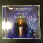 United States Air Force Concert Band And Singing Sergeants - Light One Candle CD (VG/M-) -joululevy-