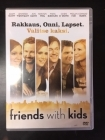 Friends With Kids DVD (VG+/M-) -komedia/draama-