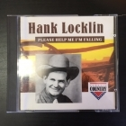 Hans Locklin - Please Help Me I'm Falling CD (M-/VG) -country-