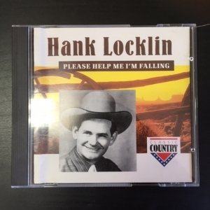 Hans Locklin - Please Help Me Im Falling CD (M-/VG) -country-