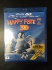 Happy Feet 2 Blu-ray 3D+Blu-ray (avaamaton) -animaatio-