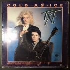 T.X.T. - Cold As Ice 7'' (VG+/VG) -synthpop-