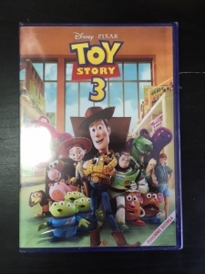 Toy Story 3 DVD (M-/M-) -animaatio-