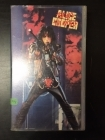 Alice Cooper - Trashes The World VHS (M-/VG+) -hard rock-