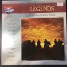 V/A - Legends (28 All Time Country Greats) 2LP (VG+-M-/VG+)