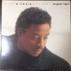 James D-Train Williams - In Your Eyes LP (VG/VG) -funk-
