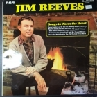 Jim Reeves - Songs To Warm The Heart LP (VG-VG+/VG+) -country-