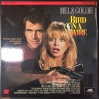 Bird On A Wire LaserDisc (VG-VG+/VG+) -toiminta/komedia-