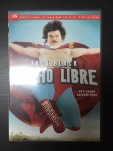 Nacho Libre (collectors edition) DVD (VG+/M-) -komedia-
