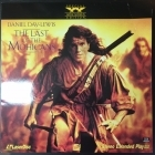 Last Of The Mohicans LaserDisc (VG+-M-/VG+) -seikkailu-