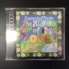 Depeche Mode - The Meaning Of Love CDS (VG+/VG+) -synthpop-