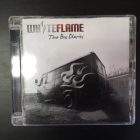 White Flame - Tour Bus Diaries CD (VG+/M-) -hard rock-
