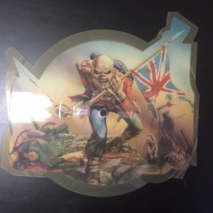 Iron Maiden - The Trooper (shaped picture disc/UK/EMIP5397/1983) 7 (VG+/-) -heavy metal-