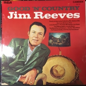 Jim Reeves - Good N Country LP (VG+/VG+) -country-