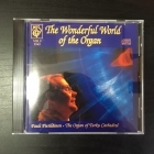Pauli Pietiläinen - The Wonderful World Of The Organ CD (VG+/VG+) -klassinen-