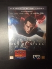 Man Of Steel (special edition) 2DVD (M-/M-) -toiminta-