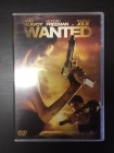 Wanted DVD (VG+/M-) -toiminta-