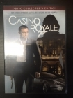 007 Casino Royale (collector's edition) 2DVD (M-/M-) -toiminta-