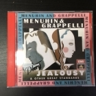 Menuhin & Grappelli - Play Jealousy & Other Great Standards CD (VG/M-) -klassinen/jazz-