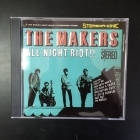 Makers - All Night Riot!! CD (M-/M-) -garage rock-