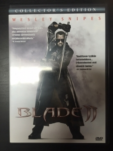 Blade 2 (collectors edition) 2DVD (VG+/M-) -toiminta-