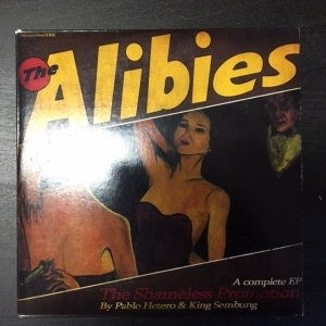 Alibies - The Shameless Promotion CDEP (VG+/VG+) -synthpop-