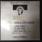 Evita - Original London Cast Recording LP (VG/VG+) -musikaali-