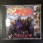 Anthrax - I'm The Man CDEP (VG+/M-) -thrash metal-