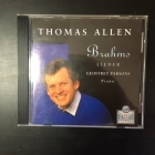 Thomas Allen - Brahms: Lieder CD (M-/M-) -klassinen-