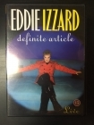Eddie Izzard - Definite Article DVD (VG+/M-) -komedia-