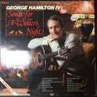 George Hamilton IV - Songs For A Winter Night LP (VG-VG+/VG+) -country-