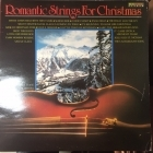 Broadway Stage Orchestra - Romantic Strings For Christmas LP (VG+/VG+) -joululevy-
