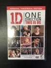 One Direction - This Is Us DVD (VG+/M-) -dokumentti-