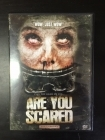 Are You Scared DVD (VG+/M-) -kauhu-