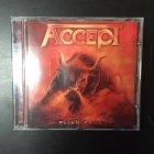 Accept - Blind Rage CD (VG/VG+) -heavy metal-