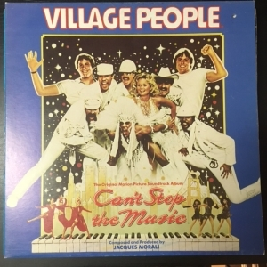 Village People - Cant Stop The Music (The Original Motion Picture Soundtrack) LP (VG+-M-/VG+) -soundtrack-