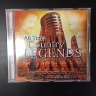All Time Country Legends CD (VG/M-)